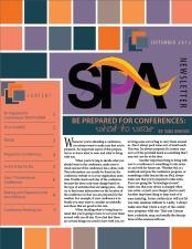 September SPA Newsletter