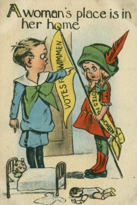 Women's Suffrage Postcard
